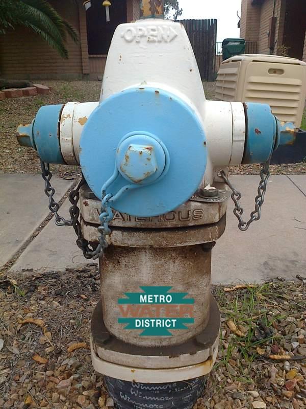 Metro Water Tucson Hydrant , metrowatertucson , metro-water ,